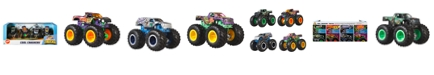 Hot Wheels Monster Trucks 1:64 4 Pack Beast Bash Vehicles