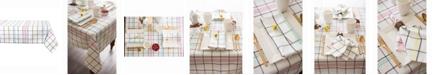 """Design Imports Color Pop Plaid Table cloth 52"""" X 52"""""""