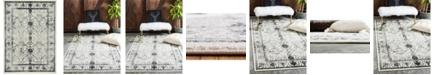 Bridgeport Home Aldrose Ald6 Gray 8' x 11' Area Rug