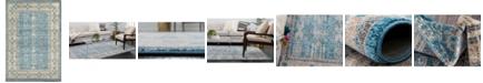Bridgeport Home Bellmere Bel1 Light Blue 6' x 9' Area Rug
