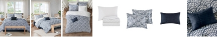 JLA Home Sia Queen 9-Pc. Reversible Complete Bedding Set with Cotton Sheet
