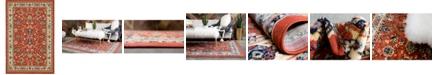 Bridgeport Home Arnav Arn1 Terracotta 6' x 9' Area Rug