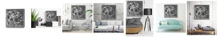 "Giant Art 20"" x 20"" Interstellar I Art Block Framed Canvas"