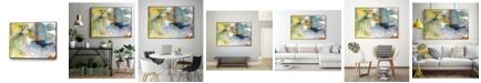 "Giant Art 24"" x 18"" Deviation I Art Block Framed Canvas"