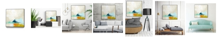 "Giant Art 20"" x 20"" Atmospheric III Art Block Framed Canvas"