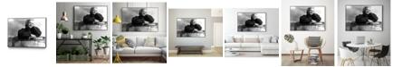 "Giant Art 40"" x 30"" My Favorite Art Block Framed Canvas"