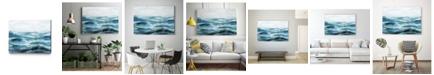 "Giant Art 14"" x 11"" Oceanic I Museum Mounted Canvas Print"