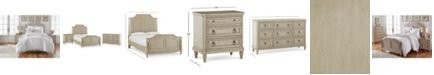 Furniture Chelsea Court Bedroom Furniture, 3-Pc. Set (Queen Bed, Nightstand & Dresser), Created for Macy's