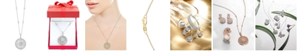 """EFFY Collection EFFY® Diamond Filigree Pendant 18"""" Necklace (1 ct. t.w.) in 14k Gold, White Gold or Rose Gold"""