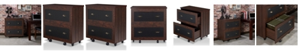 Furniture of America Hollis Rustic File Cabinet