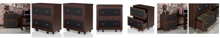 Furniture of America Hollis Rustic File Cabinet