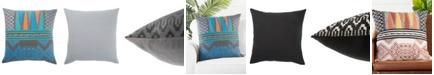 "Jaipur Living Museum Ifa By Mesa Geometric Poly Throw Pillow 22"""