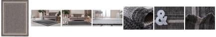 Bridgeport Home Pashio Pas5 Black 9' x 12' Area Rug