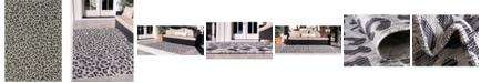 "Bridgeport Home Pashio Pas7 Light Gray 8' x 11' 4"" Area Rug"