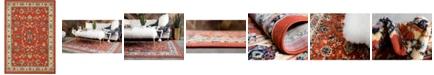 Bridgeport Home Arnav Arn1 Terracotta 7' x 10' Area Rug