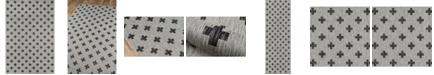 """Novogratz Collection Novogratz Villa Vi-01 Gray 3'11"""" x 5'7"""" Area Rug"""