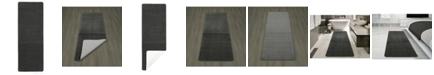 "Ottomanson Softy Collection Solid Non-Slip Kitchen/Bath Rug, 20"" x 59"""