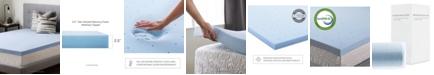 """Brookside 2.5"""" Gel Infused Memory Foam Mattress Topper, Queen"""