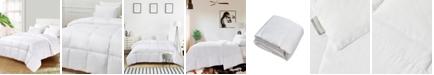 Kathy Ireland Ultra-Soft Nano-Touch Light Warmth White Down Fiber Comforter