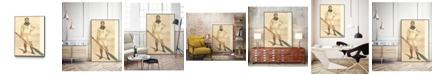 "Giant Art 20"" x 16"" Vanity Fair Rowing Art Block Framed Canvas"