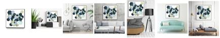 "Giant Art 30"" x 30"" Crystallize II Art Block Framed Canvas"