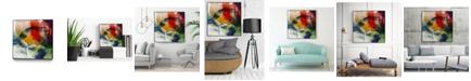 """Giant Art 30"""" x 30"""" Vibrant Terrain I Art Block Framed Canvas"""