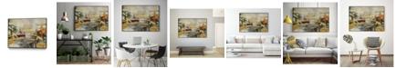 "Giant Art 40"" x 30"" Composition I Art Block Framed Canvas"