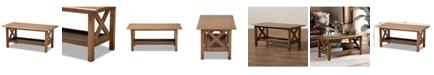 Furniture Furniture Reese Modern Rectangular Coffee Table