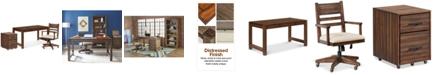 Furniture Avondale Home Office Furniture, 3-Pc. Set (Desk, File Cabinet & Desk Chair)