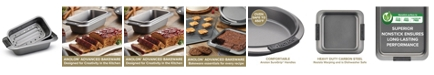 """Anolon Advanced 9"""" x 5"""" Loaf Pan with Drip Pan Insert"""