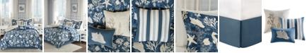 Madison Park Cape Cod 7-Pc. Queen Comforter Set