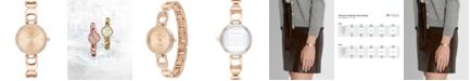 COACH Women's Park Rose Gold-Tone Stainless Steel Bracelet Watch 26mm