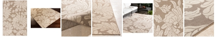 """Surya Alfresco ALF-9623 Camel 3' x 5'6"""" Area Rug, Indoor/Outdoor"""