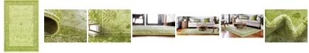 Bridgeport Home Aldrose Ald4 Light Green 6' x 9' Area Rug