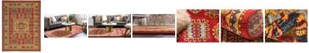 Bridgeport Home Harik Har6 Red 10' x 13' Area Rug