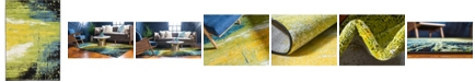 Bridgeport Home Pari Par1 Light Green 4' x 6' Area Rug