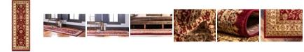 """Bridgeport Home Passage Psg4 Red 2' 2"""" x 6' Runner Area Rug"""
