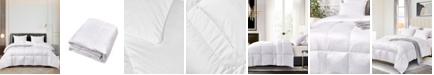 Elle Decor Ultra-Soft Nano-Touch Light Warmth White Down Fiber Comforter, Full/Queen
