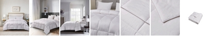 Blue Ridge 240 Thread Count Cotton White Goose Feather Down Medium Warmth Twin Comforter