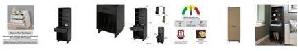 A Design Studio Fleur Tall Turntable Stand