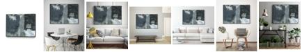 "Giant Art 40"" x 30"" Shades of IV Art Block Framed Canvas"