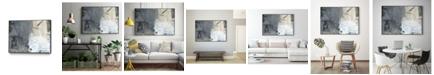 "Giant Art 28"" x 22"" Shades of I Art Block Framed Canvas"