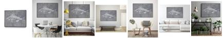 "Giant Art 20"" x 16"" Like a Stone I Art Block Framed Canvas"