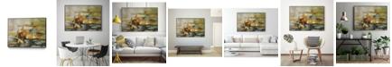 "Giant Art 40"" x 30"" Composition II Art Block Framed Canvas"