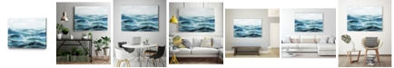 "Giant Art 32"" x 24"" Oceanic I Museum Mounted Canvas Print"