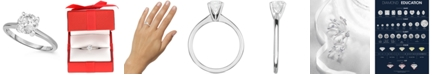 Macy's Diamond (1 ct. t.w.) Engagement Ring in 14K White, Yellow or Rose Gold