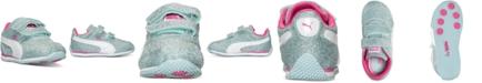 Puma Toddler Girls' Steeple Glitz Casual Sneakers from Finish Line