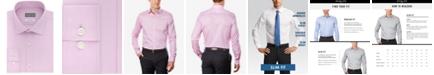 Michael Kors Men's Slim-Fit Non-Iron Airsoft Stretch Performance Solid Dress Shirt