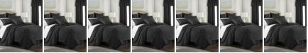 Colcha Linens Cambric Black Duvet-King/California King