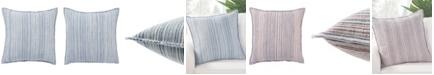 """Jaipur Living Taye Stripe Down Throw Pillow 22"""""""